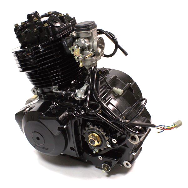 250cc Engine: 250cc Motorcycle Engine K172FMM For Pulse Adrenaline 250