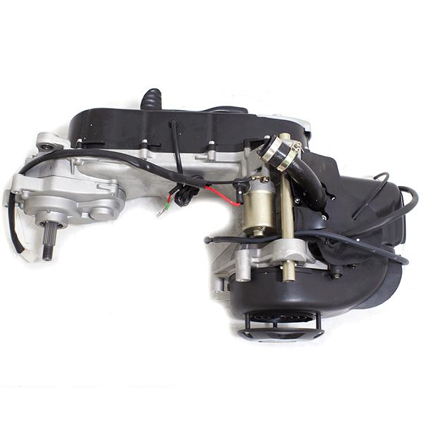 50cc scooter 2 stroke motor komplett 1pe40qmb mit. Black Bedroom Furniture Sets. Home Design Ideas