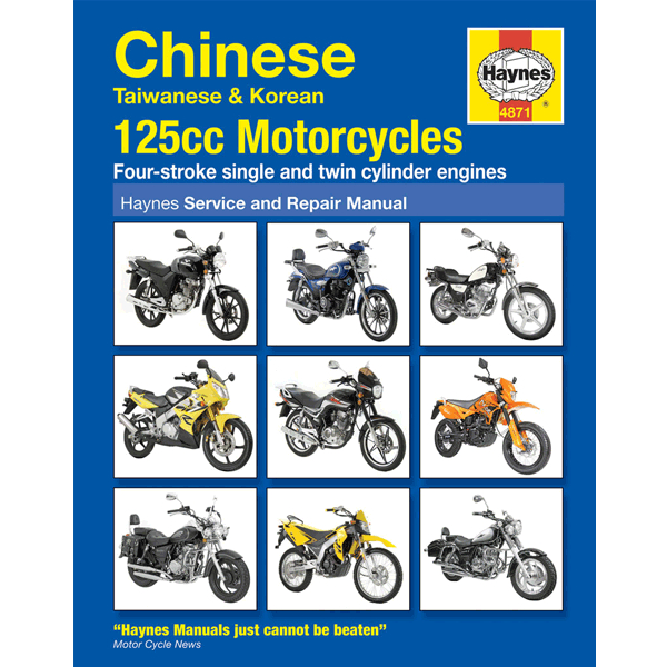 haynes chinese motorcycle service repair manual 4871 for. Black Bedroom Furniture Sets. Home Design Ideas