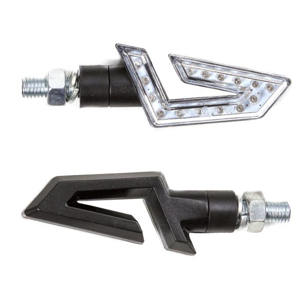 lextek scooter hook style led indicators 15 led for znen. Black Bedroom Furniture Sets. Home Design Ideas