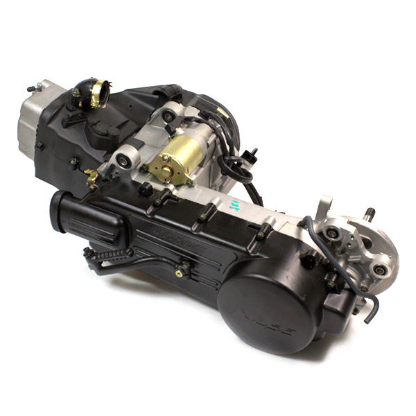Types Of Motorcycle Engines: 125cc Scooter Engine 152QMI-A For Pulse Lightspeed 2 125